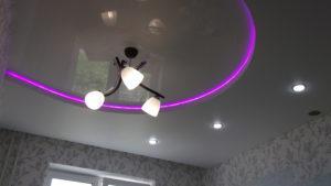 Возможен монтаж декоративной подсветки